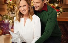 Poster for Reunited at Christmas, the movie Penelope Waterbury watched. Photo courtesy of the Hallmark Channel.