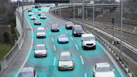 Self driving cars run by AI could become commonplace not too far in the future. Image courtesy of forbes.com.